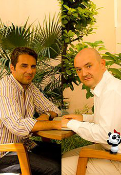 Fco Javier Rodriguez, JM Louro