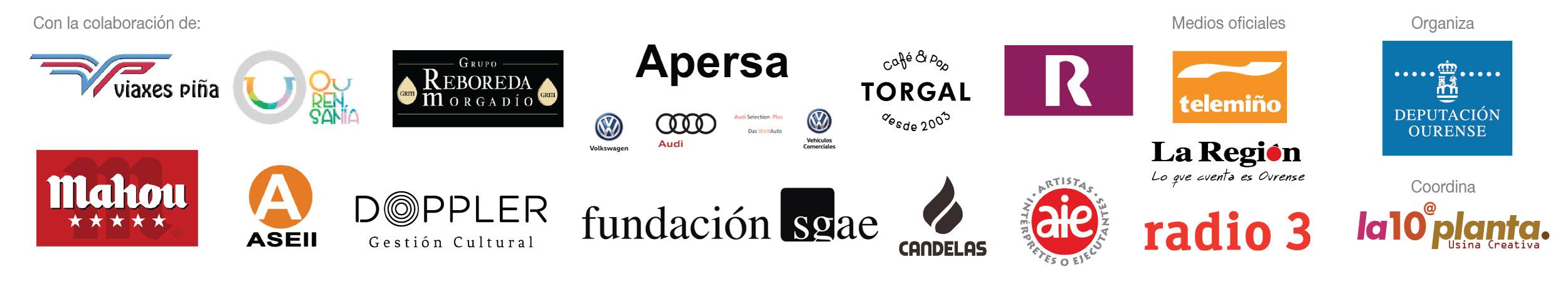 Patrocinadores da Ourense ICC Week 2018