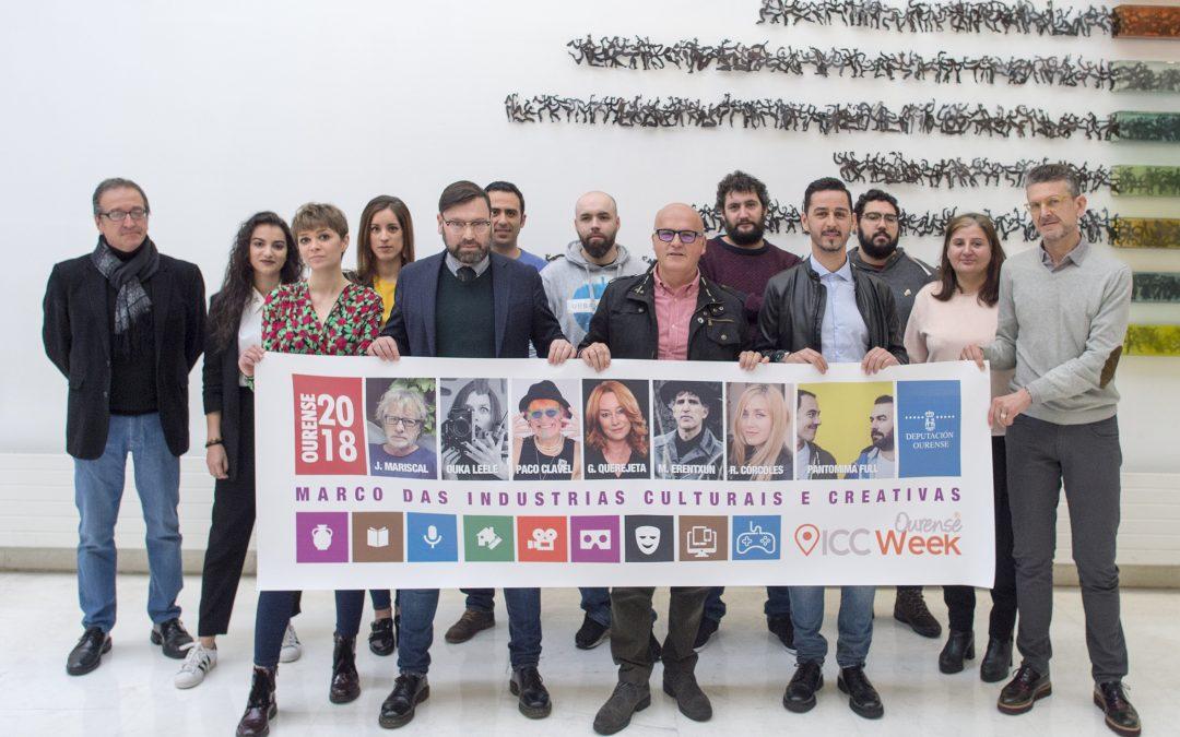 Paco Clavel, Javier Mariscal, Bárbara Ouka Lelee, Juan Sánchez e María Grande inaugurarán a Ourense ICC Week