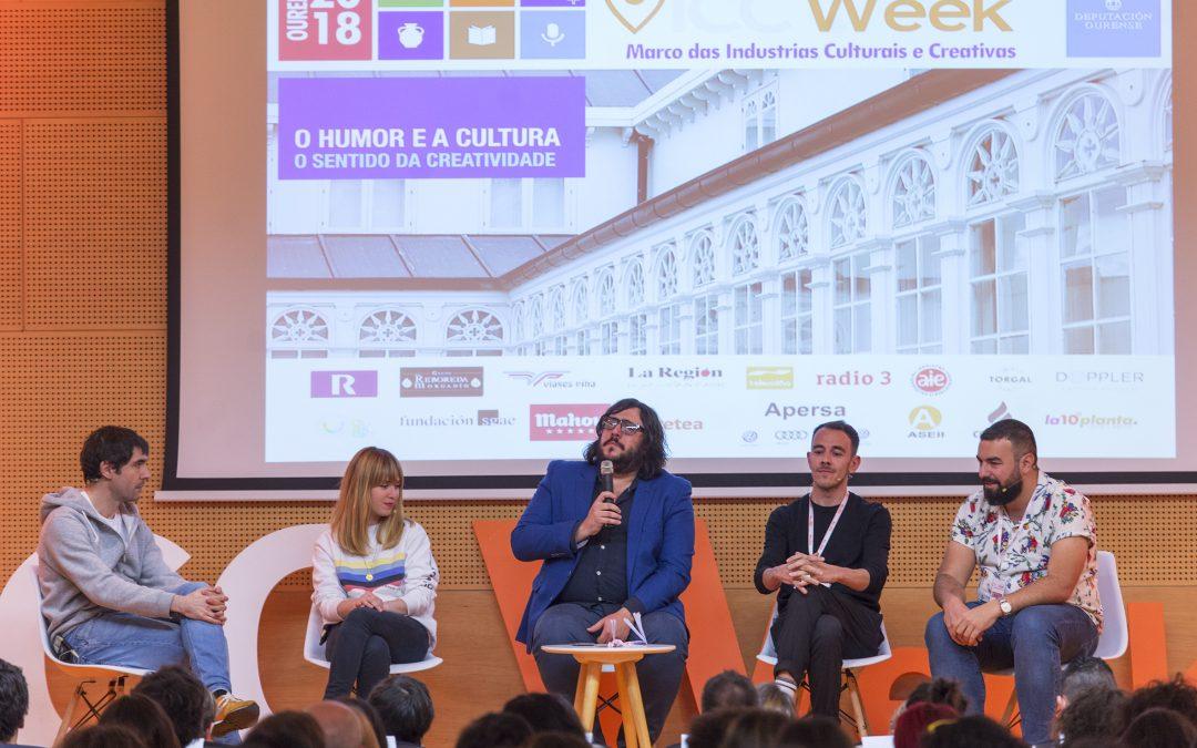 O patrimonio, os dereitos dos intérpretes e o humor foron os protagonistas da segunda xornada da Ourense ICC Week