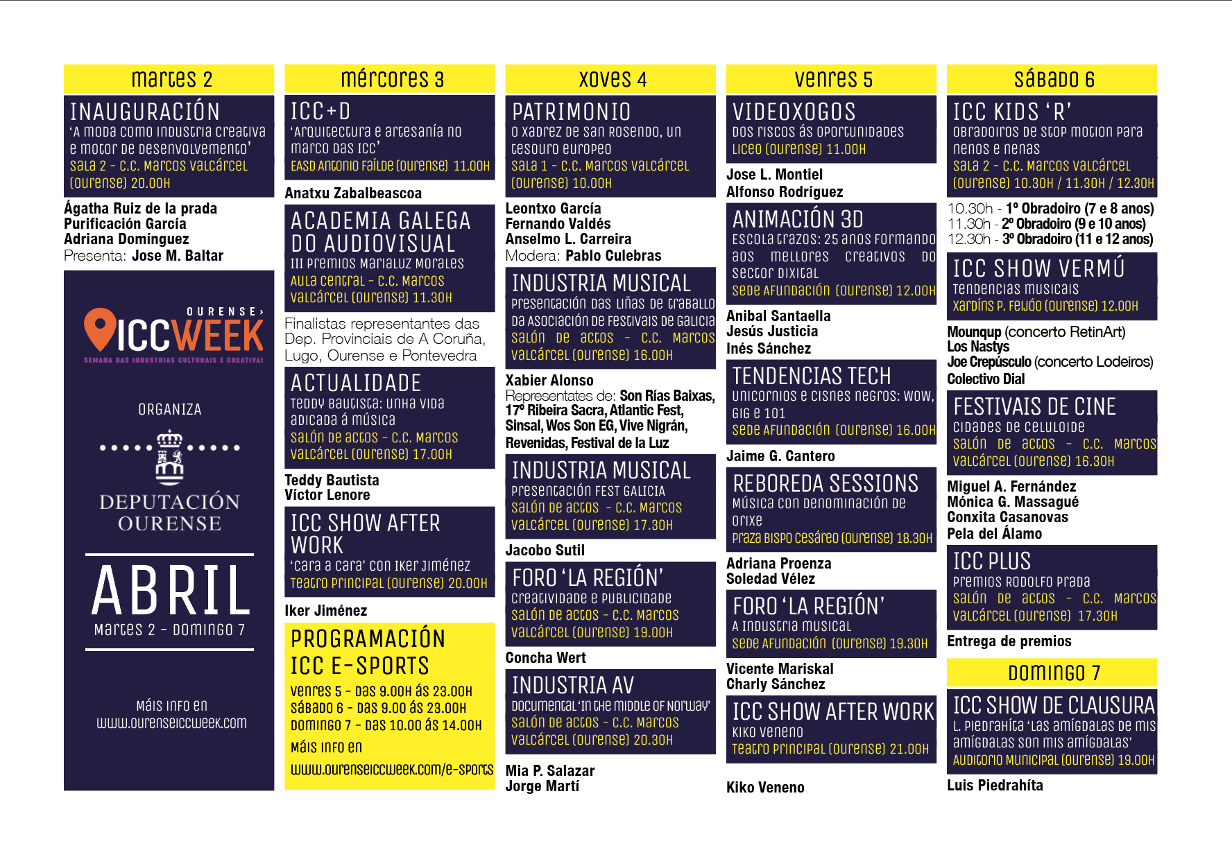 ICC Week (Semana das Industrias Culturais e Creativas